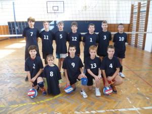 2 minivolejbalové týmy ve skupině B