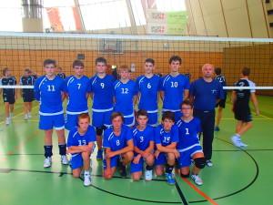 Žáci na turnaji ve Vídni