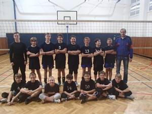 Minivolejbal mladších žáků