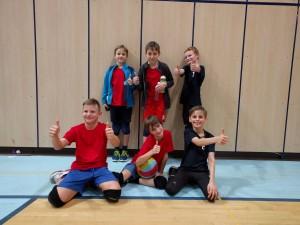 18 našich dětí na turnaji v barevném minivolejbalu!
